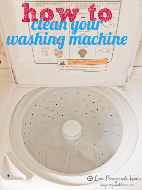 best way to clean washing machine