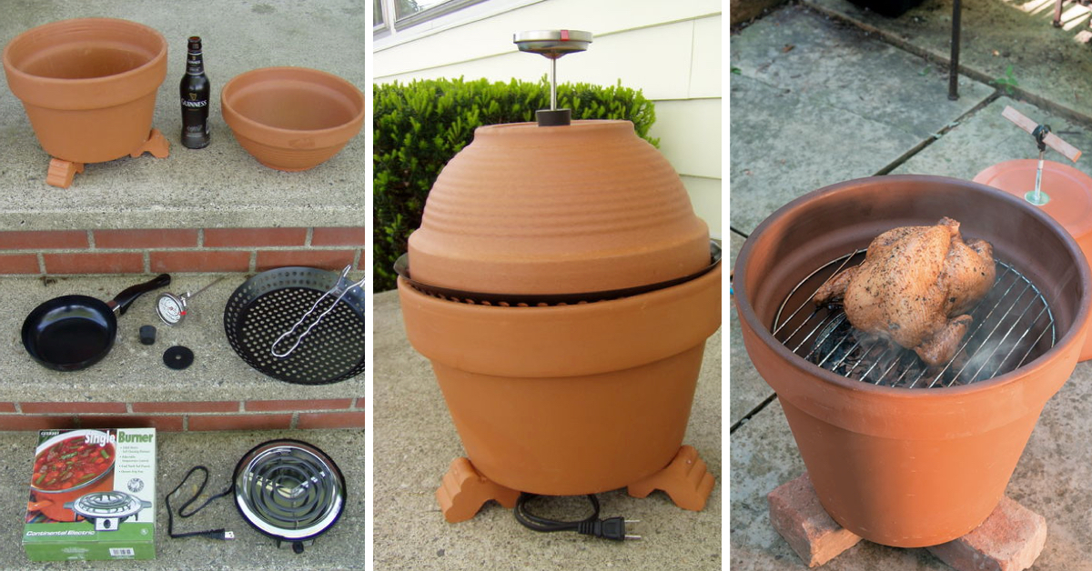 simple diy projects for easy diy project make your own terracotta smoker