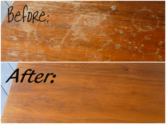 Fixing Scratches in Wood Furniture