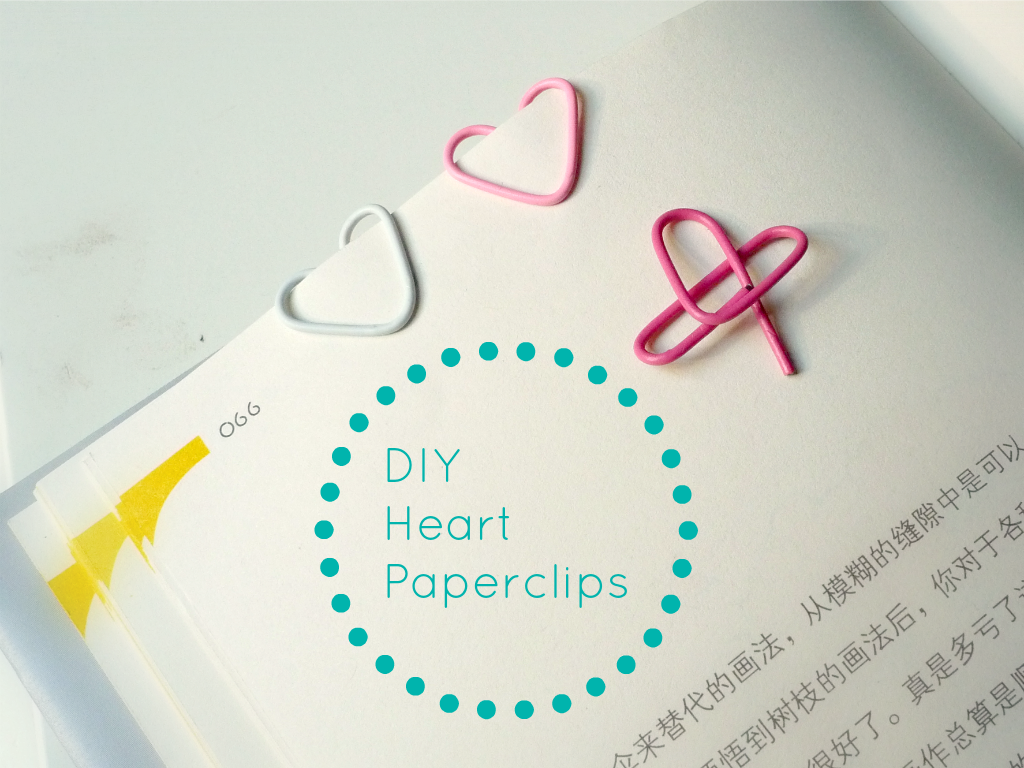 Heart Shaped Paperclips Cute Diy Projects