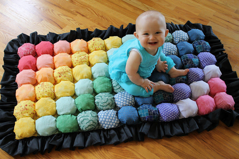How To Make A Super Cute Baby Puff Blanket Diy Projects