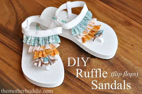 (Another) Ruffle Flip Flops