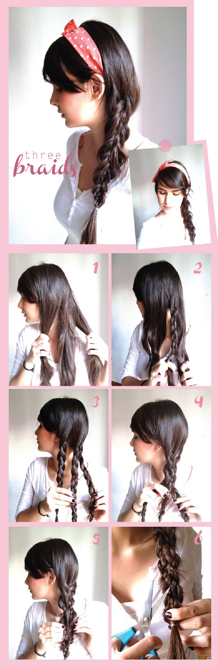 Tremendous 30 Cute And Easy Braid Tutorials That Are Perfect For Any Short Hairstyles Gunalazisus