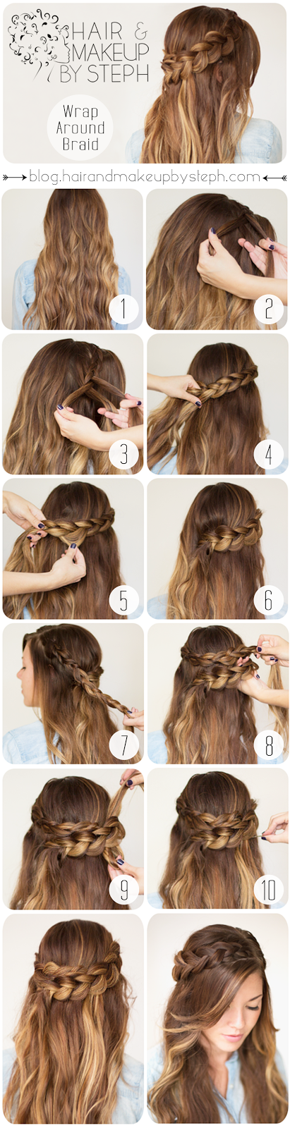 Brilliant 30 Cute And Easy Braid Tutorials That Are Perfect For Any Hairstyles For Women Draintrainus