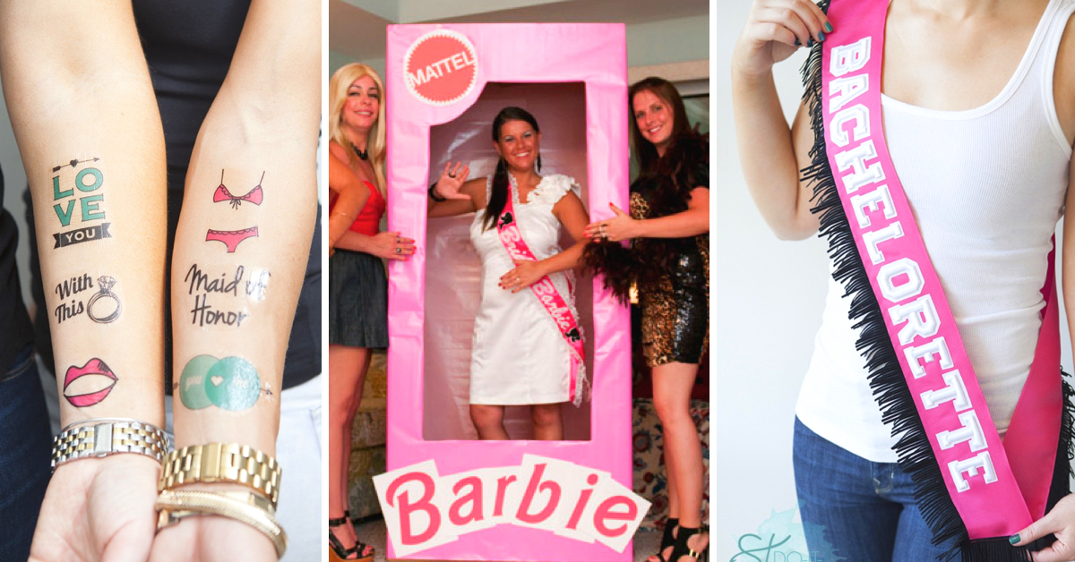 Your Guests Will Be Dazzled By These 30 DIY Bachelorette Party Ideas Page 2 Of Cute Projects