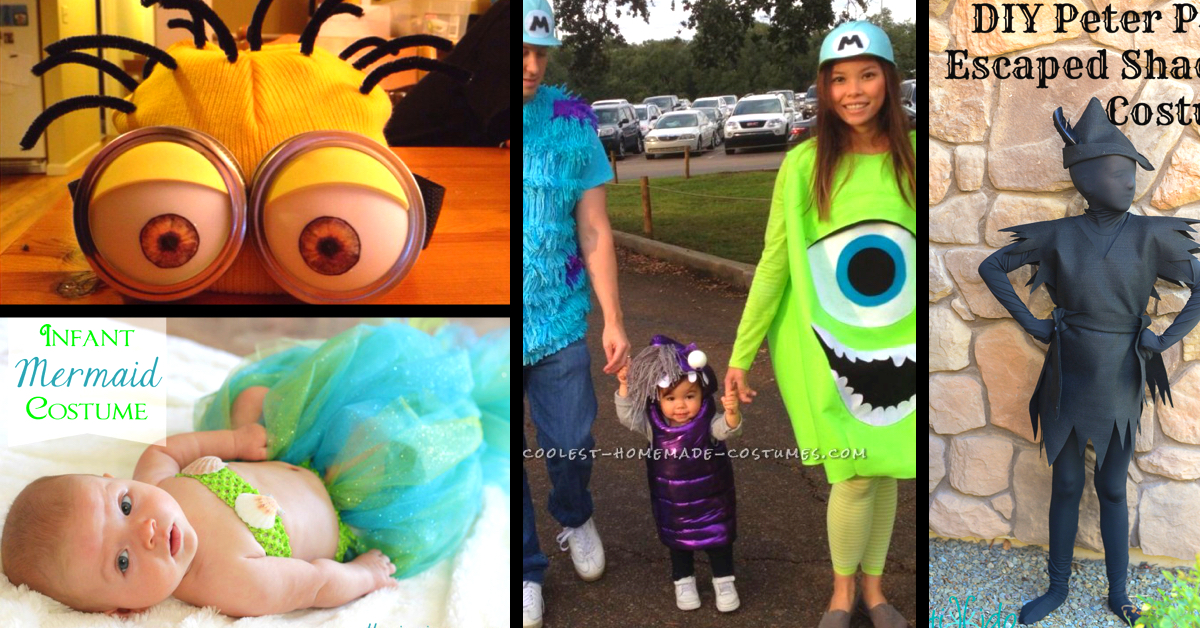 25 utterly cute and easy halloween costumes for 2017
