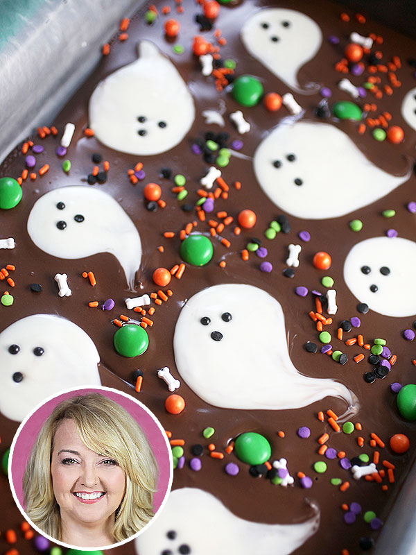 Bakerella's Spooky No-Bake Treat: Boo Bark