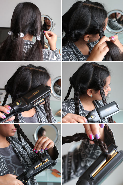 Beauty Hack : Flat Iron Your Braids to Make Waves