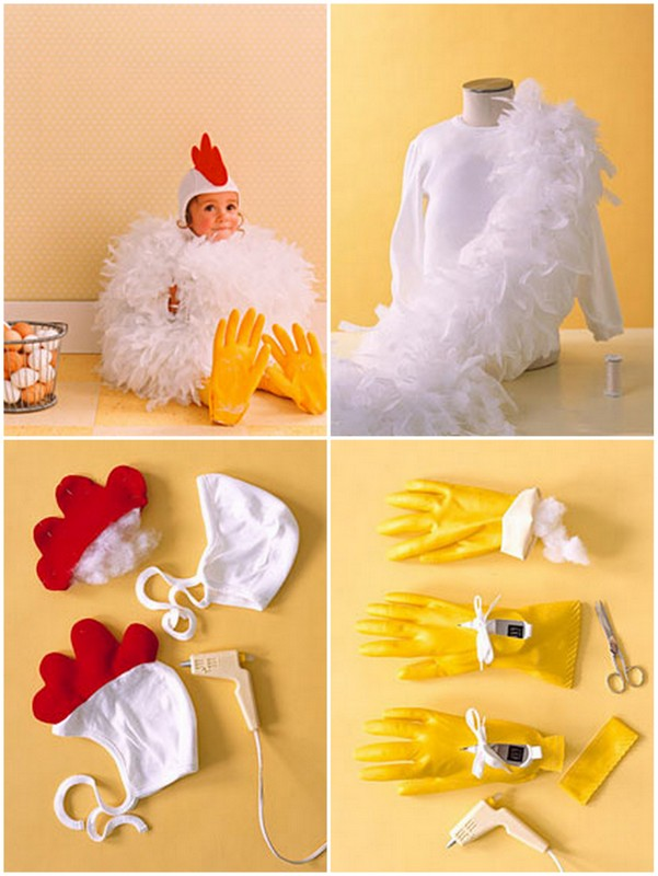 DIY Chicken Costume  sc 1 st  Cute DIY Projects & 25+ Utterly Cute and Easy Halloween Costumes for 2017