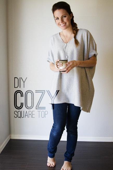 DIY Cozy Square Top