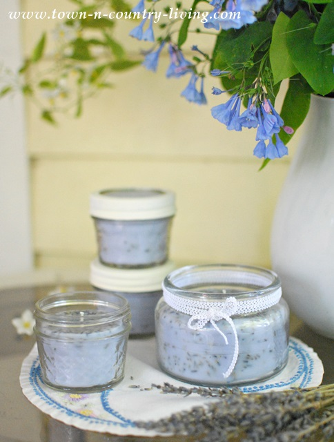 How to Make Lavender Candles