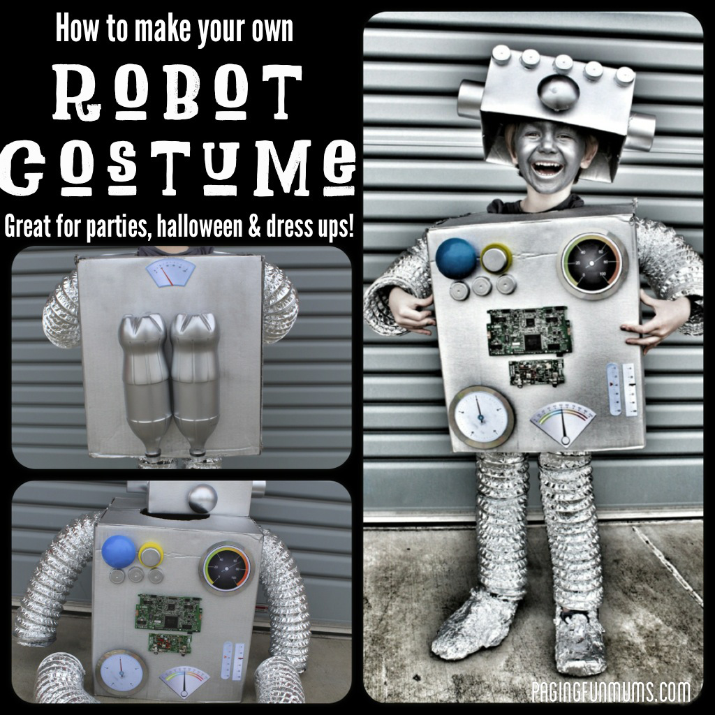 how to create your own robot
