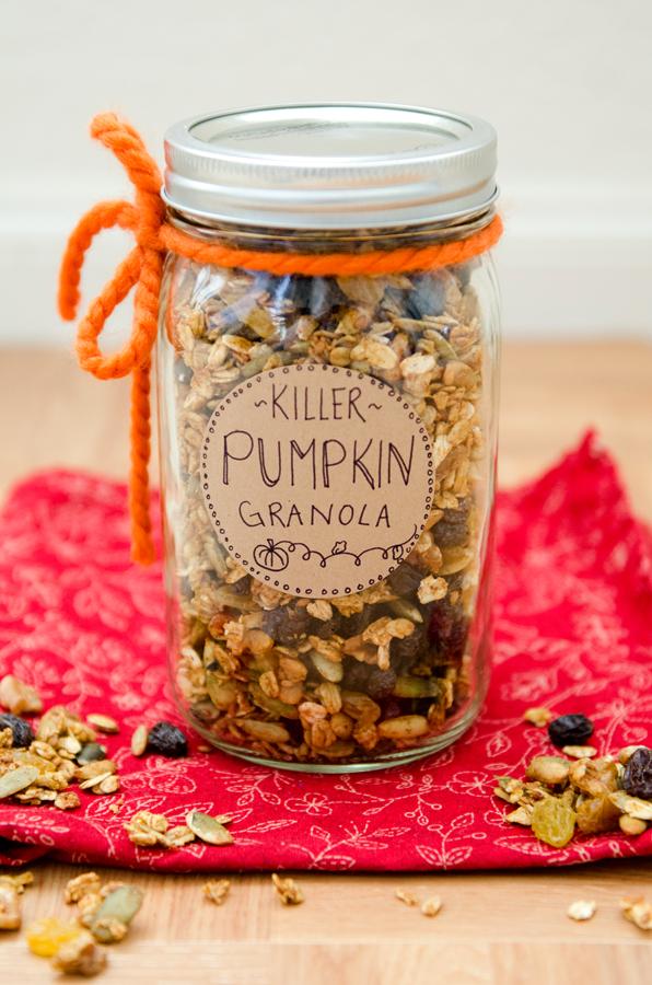 Killer Pumpkin Granola : Gluten-Free & Vegan