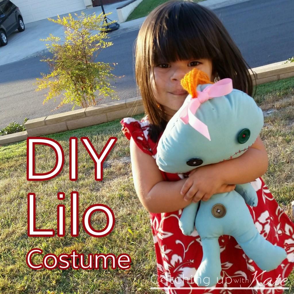 Lilo : Easy NO SEW Halloween Costume