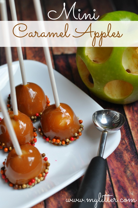 60 easy and spooky diy halloween treats for 2017 for Caramel apple recipes for halloween