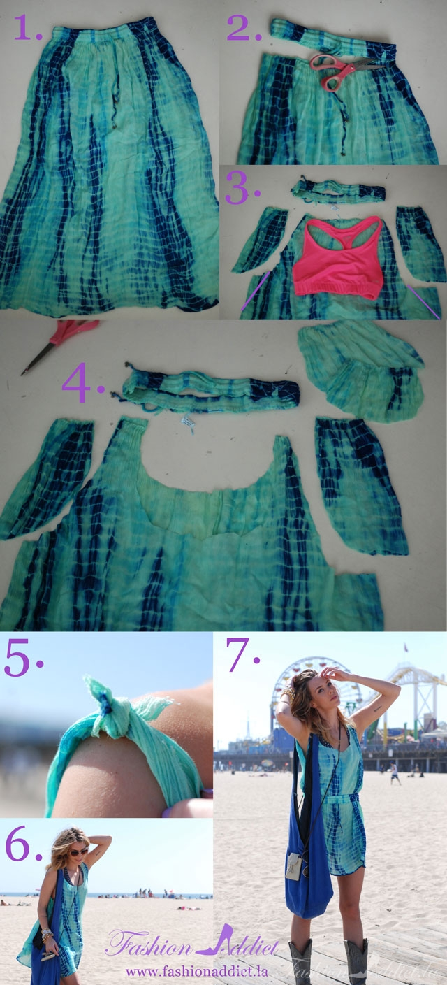 37 Truly Easy No Sew DIY Clothing Hacks – Cute DIY Projects