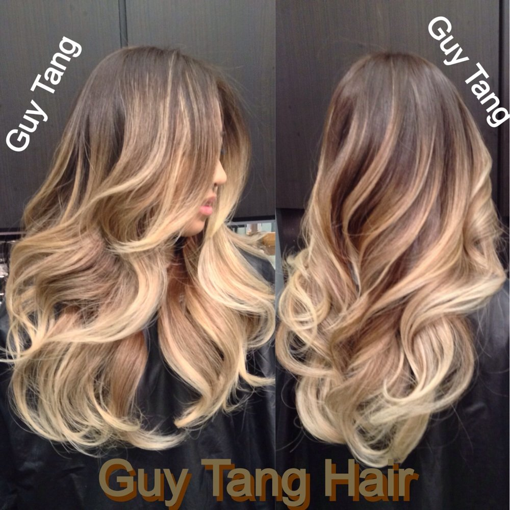 Top 30 balayage hairstyles to give you a completely new for Guy tang salon