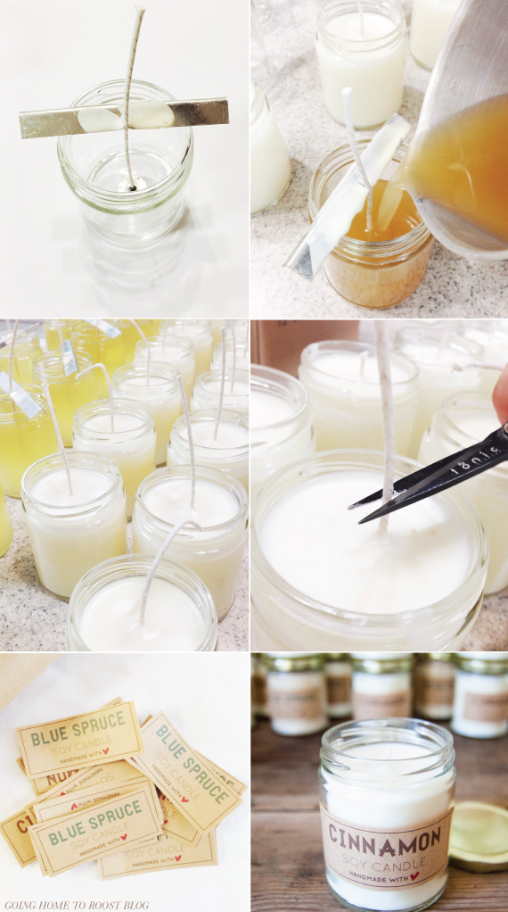 31 Brilliant DIY Candle Making and