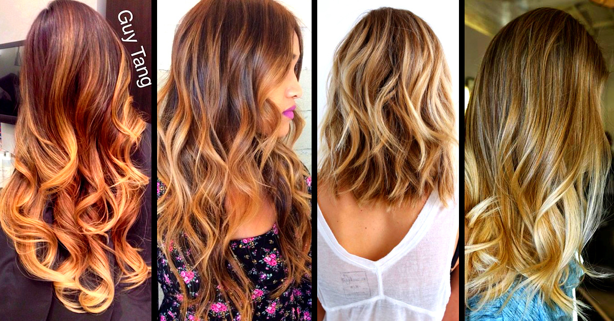 Pics Of Hair Colors And Styles Top 30 Balayage Hairstyles To Give You A Completely New Look .