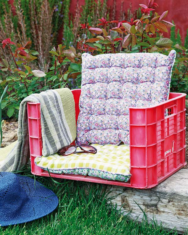 10 truly easy yet innovative diy garden furniture ideas - Ideas para hacer un jardin ...