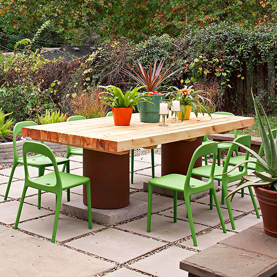 wonderful outdoor tables