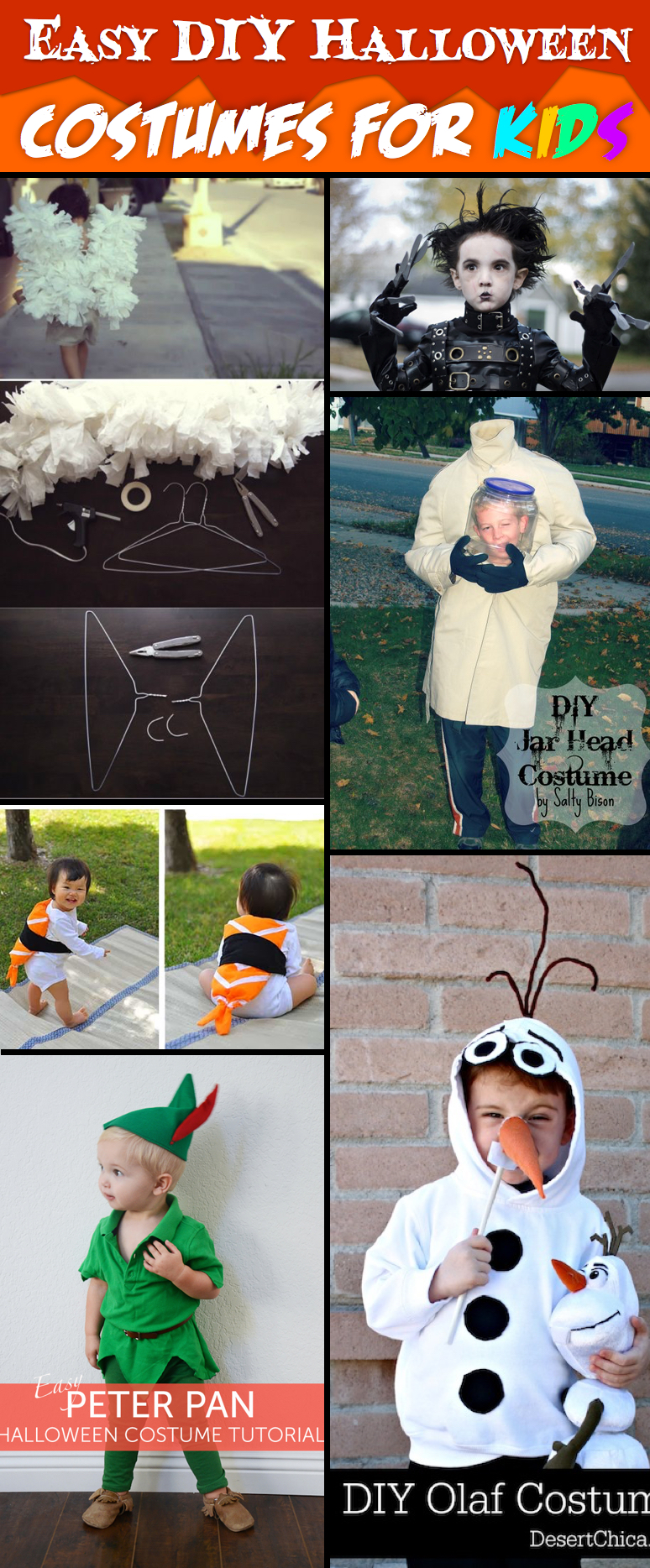 30+ Incredibly Awesome Yet Easy DIY Halloween Costumes For Kids