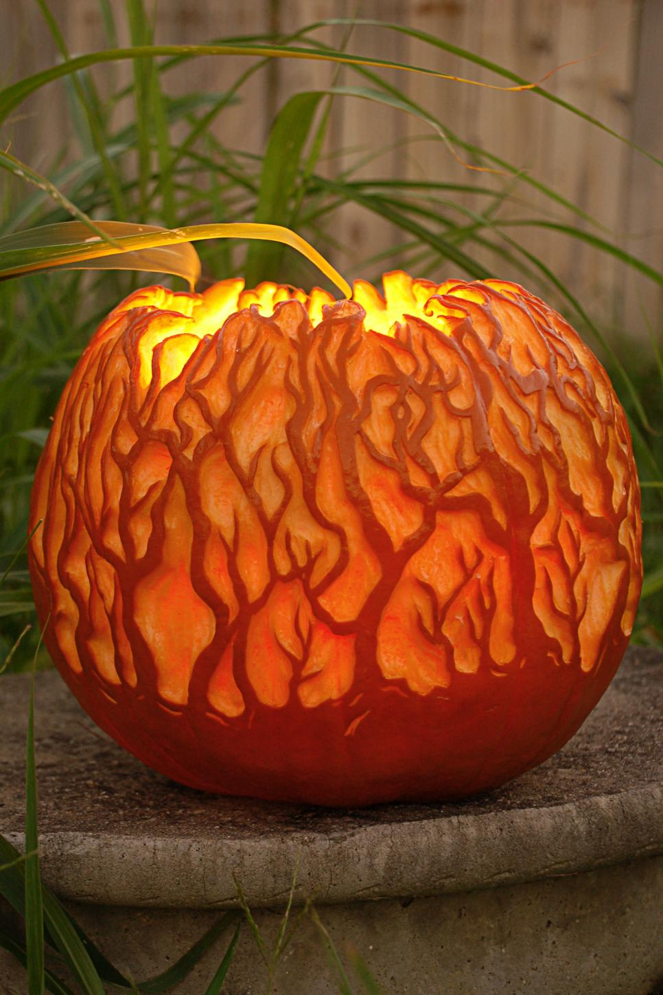 60 easy cool diy pumpkin carving ideas for halloween 2017 for Different pumpkin designs