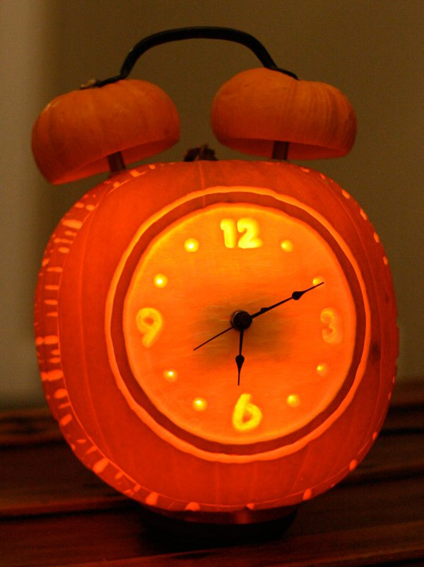 Alarm Clock Halloween Pumpkin Part 36