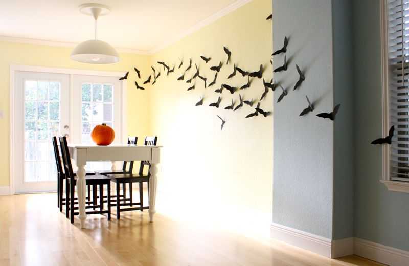 Halloween Wall Decoration Ideas : Best diy halloween decorations for