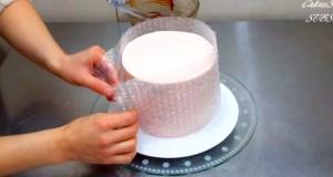Bubble Wrap Cake decorating