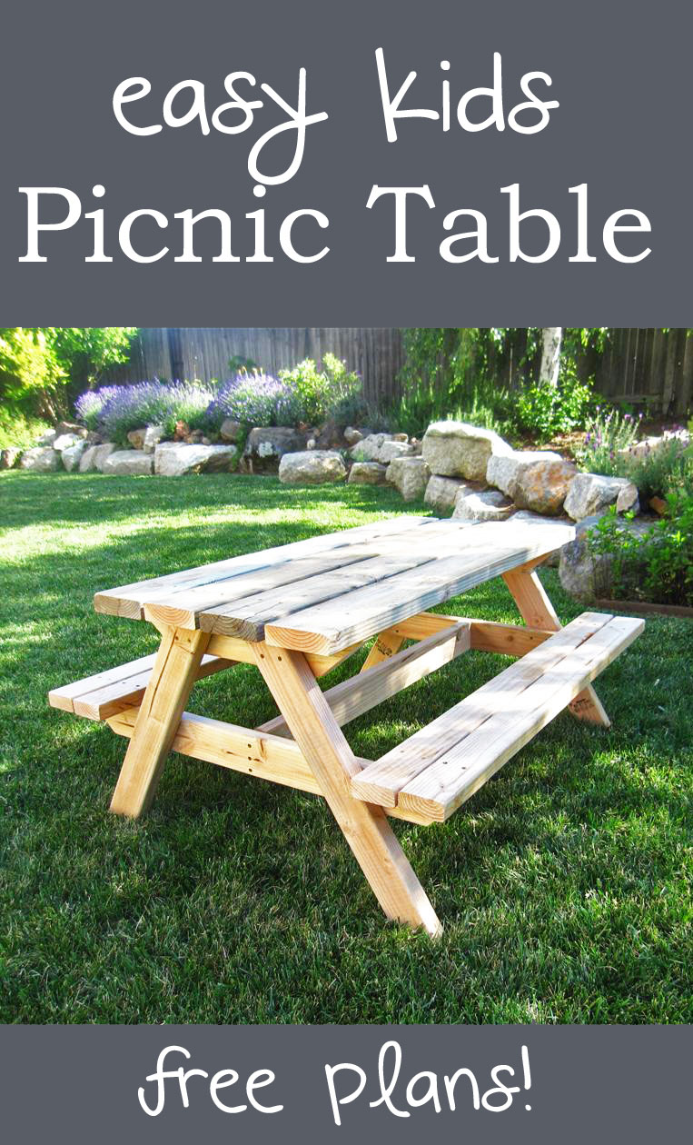 Fun Painting Ideas For Picnic Table