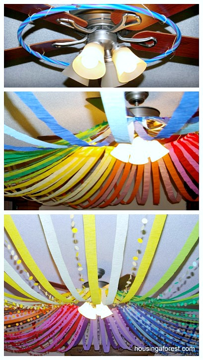 23 Color Wheel Ceiling