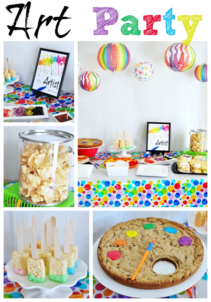 20 exquisite birthday party ideas for little girls cute for Crafts for birthday parties