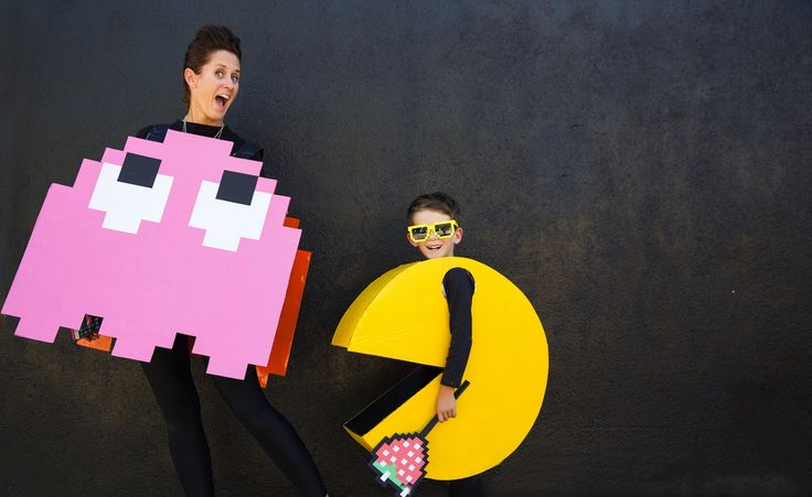 diy kids pacman halloween costume - Halloween Costumes Diy Kids