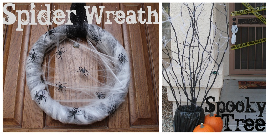 50 easy diy outdoor halloween decoration ideas for 2017 - Interesting diy halloween wreaths home ...