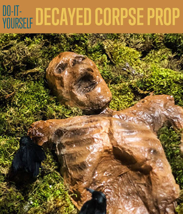 decayed corpse halloween prop - Diy Outdoor Halloween Decorations