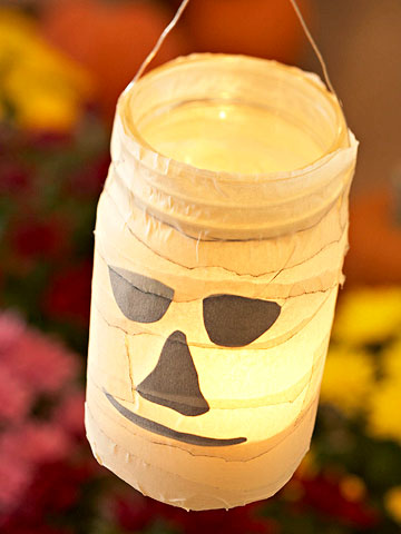 Easy Halloween Luminaries