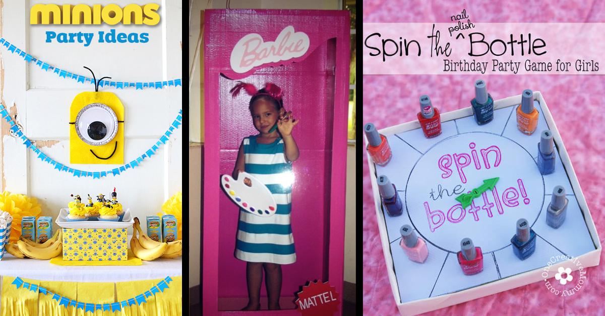 20 Exquisite Birthday Party Ideas For Little Girls Cute DIY