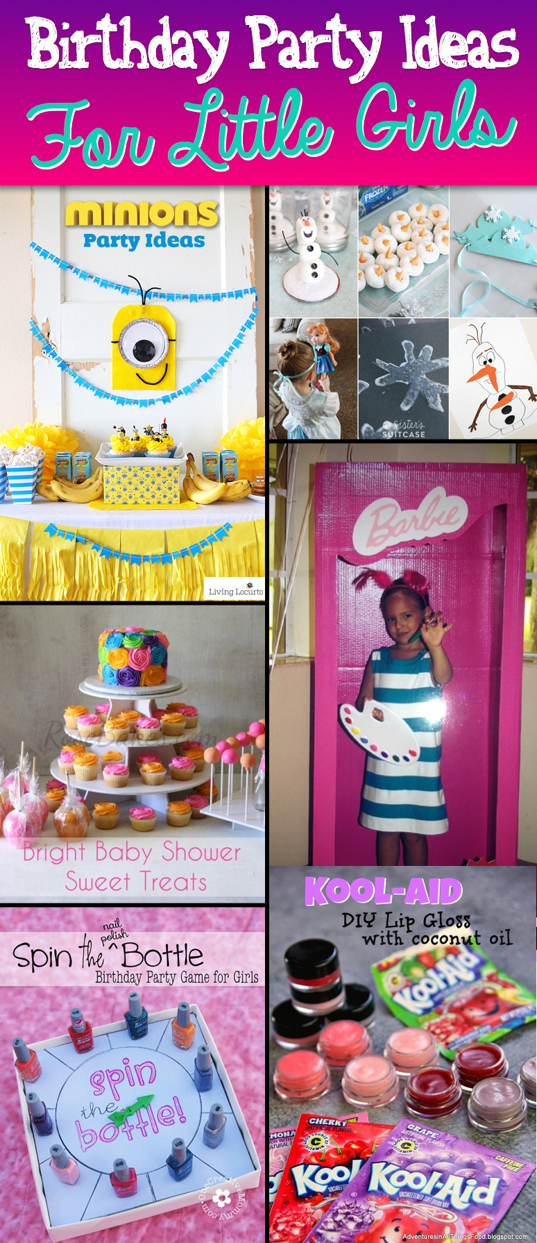 20 Exquisite Birthday Party Ideas For Little Girls Cute Diy Projects