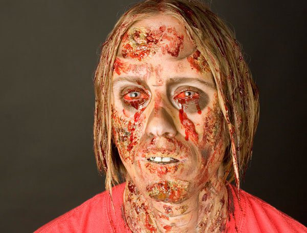 Flashback: Gory Ghoul Makeup