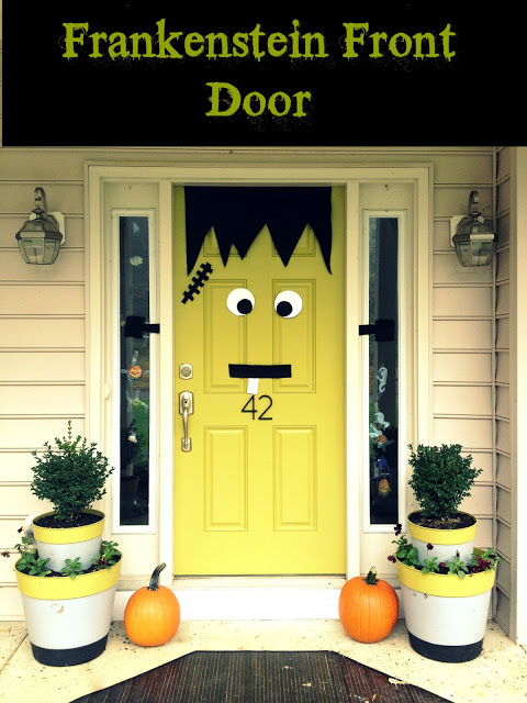 Frankenstein Front Door