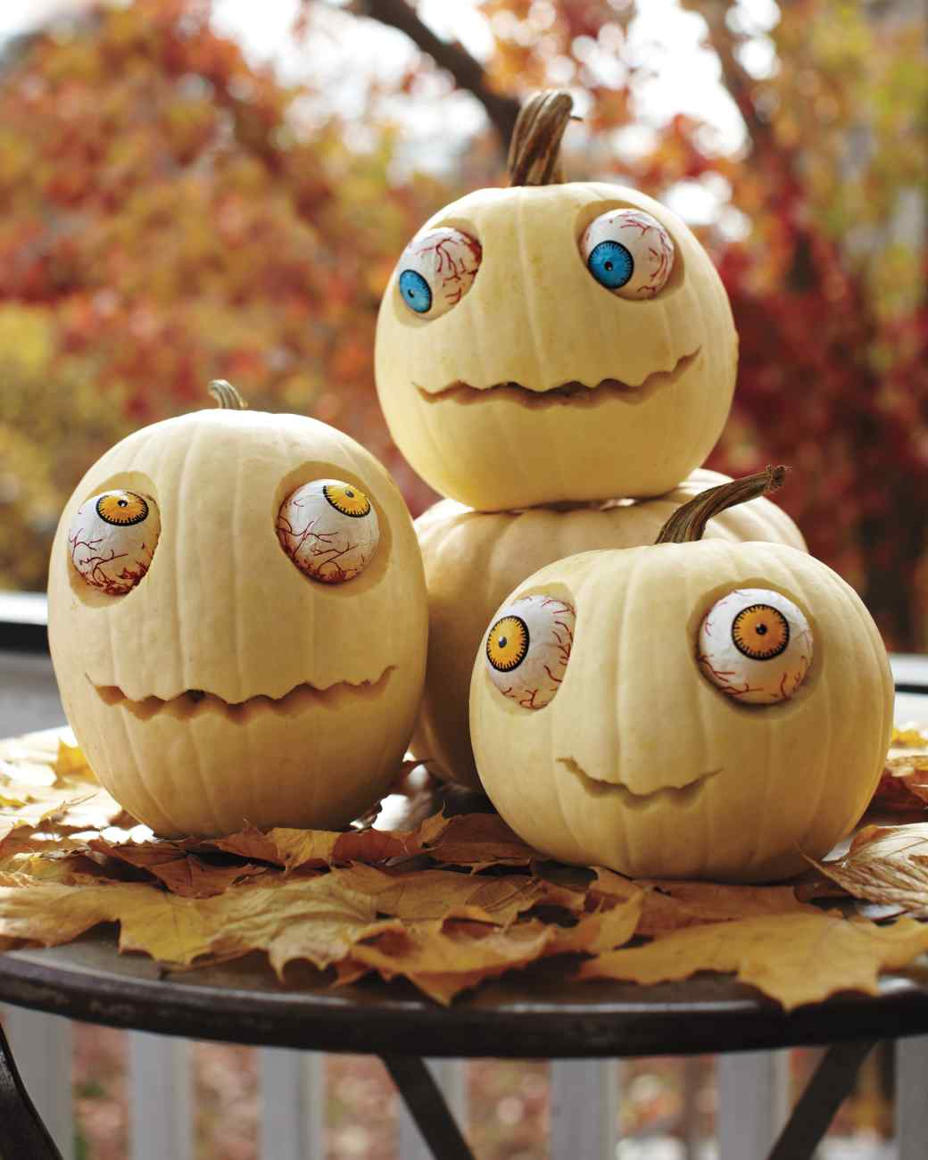 Googly-Eyed Pumpkins