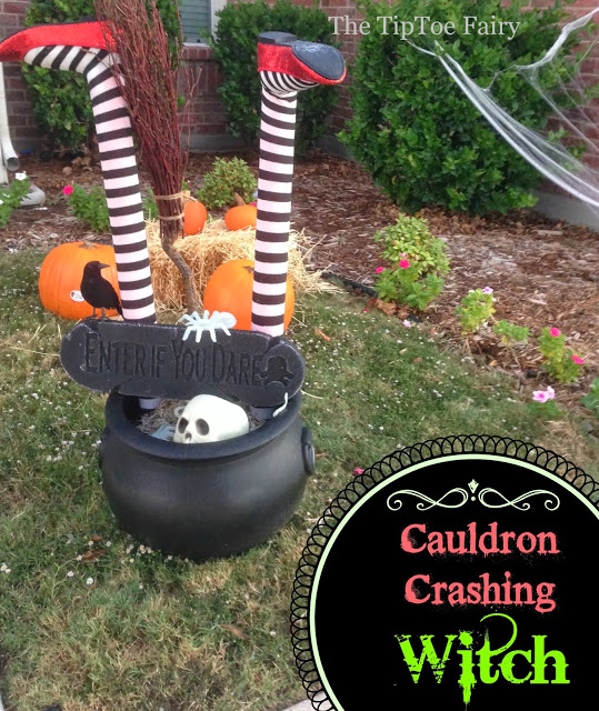 halloween witch decorations for outdoors