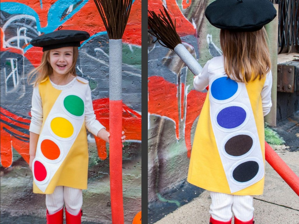 50 best diy halloween costumes for kids in 2017 kids halloween costume watercolor paint box solutioingenieria Images