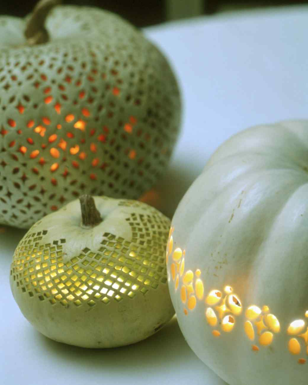 Lacy Pumpkins