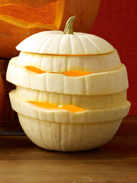 60 easy cool diy pumpkin carving ideas for halloween 2017 White pumpkin carving ideas
