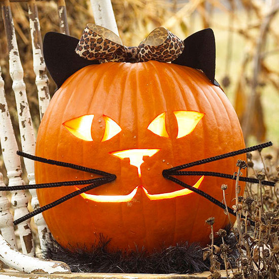 Easy cool diy pumpkin carving ideas for halloween