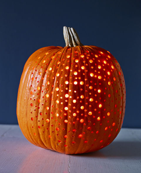 Star Spangled Halloween Pumpkin