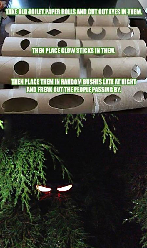 2 thats just devilishly genius - Scary Homemade Halloween Decorations
