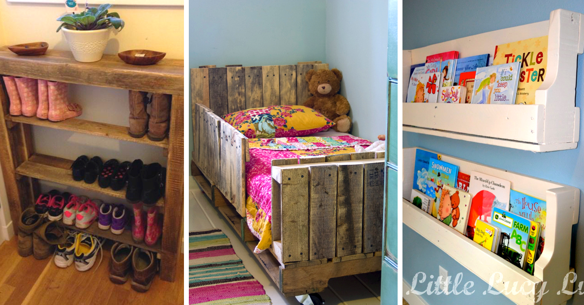 20 Incredibly Useful And Adorable Kids Pallet Furniture